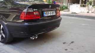Bmw E46 320d exhaust