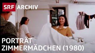 Porträt Zimmermädchen (1980) | Arbeitsmigranten in der Schweiz | SRF Archiv