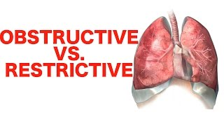 Obstructive vs. Restrictive Lung Disease || USMLE