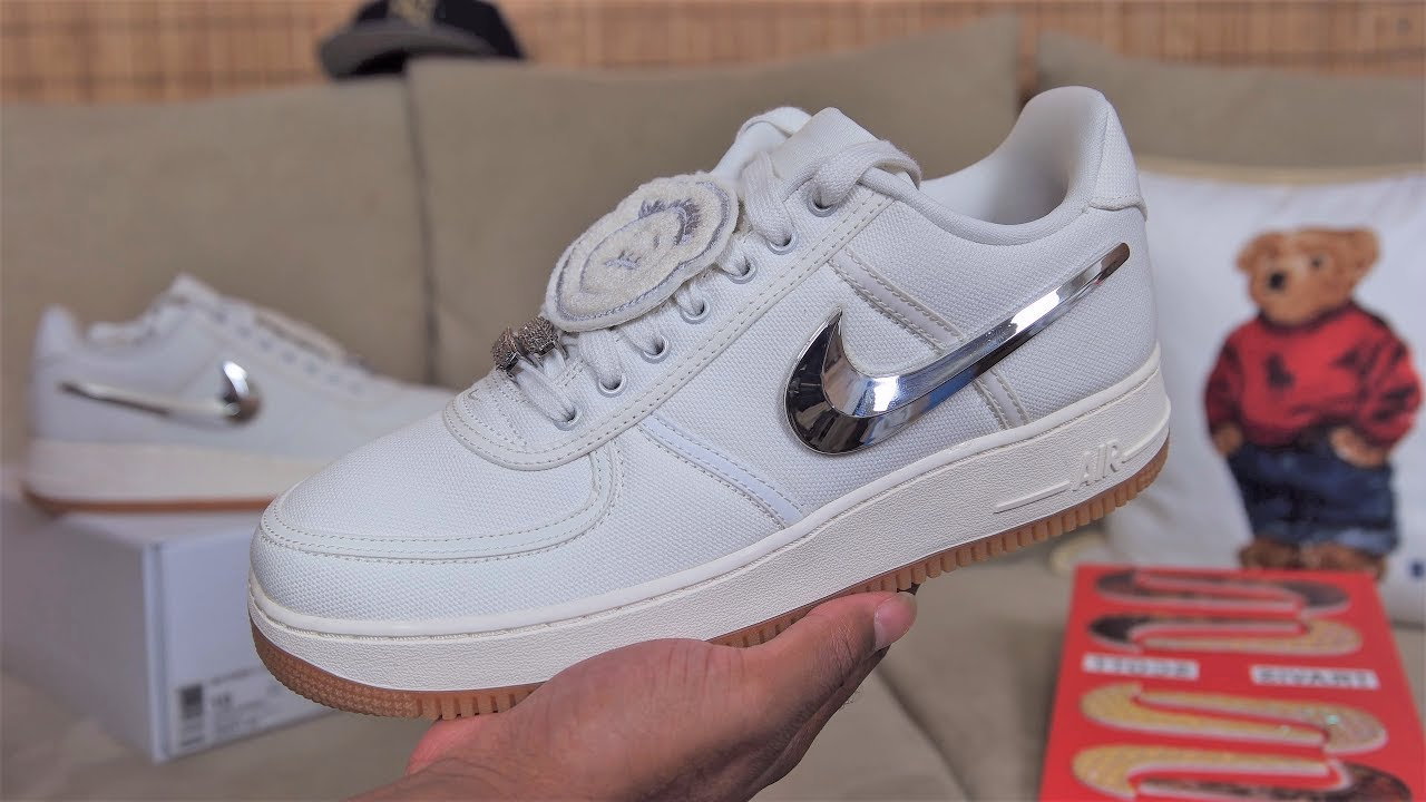 Another Travis Scott x Nike Air Force 1 Is Releasing Later