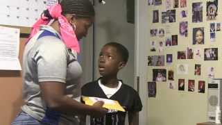 Mom pranks kid on 8th birthday