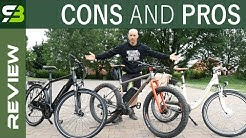 E-Bikes Part 1 - Front Hub vs Rear Hub vs Central Motor. What Works Best?