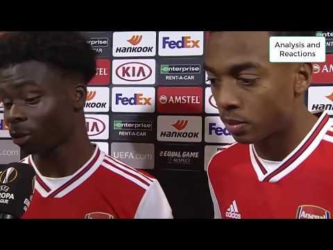 Frankfurt 0-3 Arsenal - Post Match Analysis and Players Reactions
