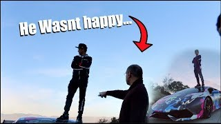 ANGRY Lunatic Hates The Supercharged Huracan! He wasn't happy..