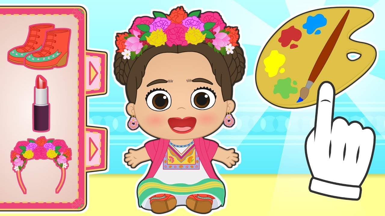baby-lily-dresses-up-as-frida-kahlo-educational-cartoons
