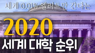 TOP 20 | 2020 세계 명문대학 순위 | 이게 …
