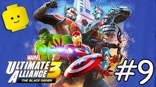 3 AVENGERS süper kahramanlar Çocuklar için Oyunlar Çizgi film Videoları - MARVEL ULTİMATE ALLİANCE