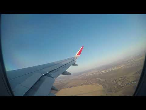 Aeroflot A320 From Ufa To Moscow With Some Turbulence (April 2018)