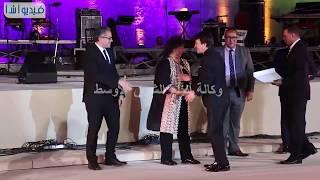 """بالفيديو : تكريم ١٠ شخصيات في مهرجان القلعة بينهم """"علي الحجار  ومحمد الحلو ونادية مصطفى"""""""