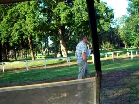 Morning Workout At Saratoga Part I- At Clare Court