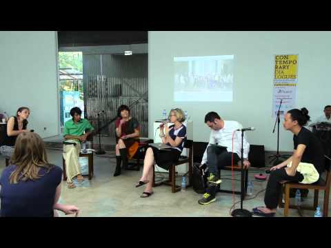 Contemporary Dialogues Yangon 2014 - 3rd event - part 2 (roundtable)