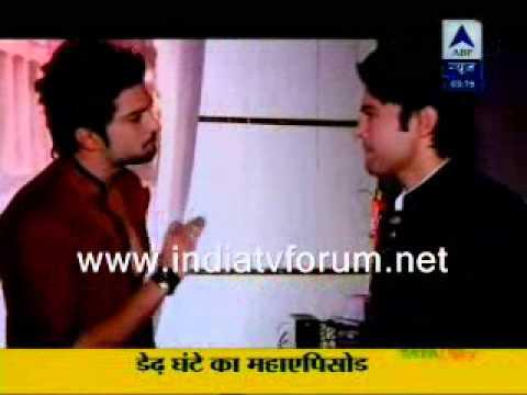 raqesh and rajeev on the sets of honge juda na hum sbs 21 Jan 2013