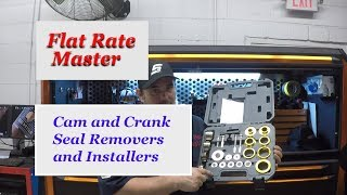 Cam and Crank Seal Removers and Installers