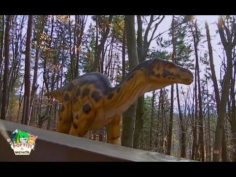 Liviu Vârciu și copiii din tabăra lui nea Mărin merg să vadă dinozaurii de la Dino Park din Râșnov