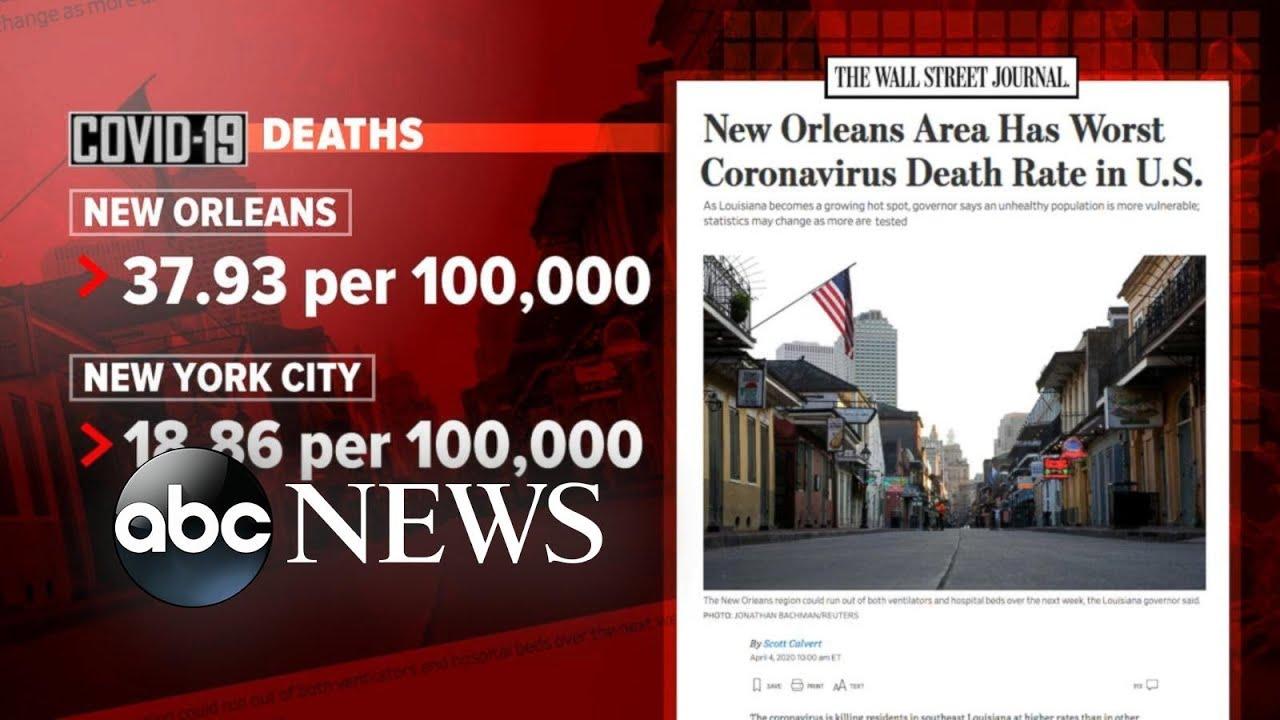 Detroit, New Orleans and other coronavirus hot spots l ABC News MyTub.uz