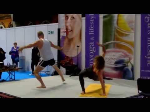 om exchange at the Manchester yoga show!