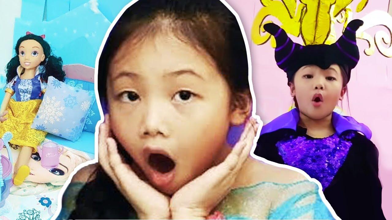 Frozen Elsa Princess Hotel Room Swap Part 3 Youtube