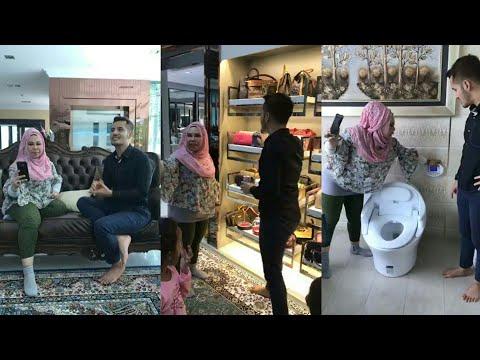 Datuk Aliff Syukri pun TERUJA waktu pergi melawat banglo mewah Datuk Seri Vida