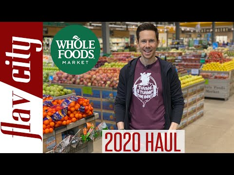The HEALTHIEST Things To Buy At The Grocery Store EPIC Whole Foods Haul