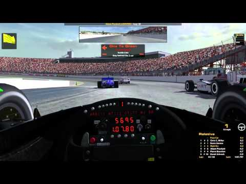 iRacing : A Proper Send-off... (Indycar Fixed @ New Hampshire)
