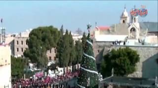 الاستعداد لإحتفالات عيد الميلاد في كنيسة المهد في بيت لحم