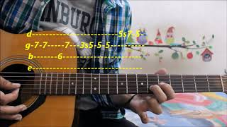 easiest-romantic-theme-for-beginners-leads-tabs-pehla-nasha---hindi-guitar-easy-lessons