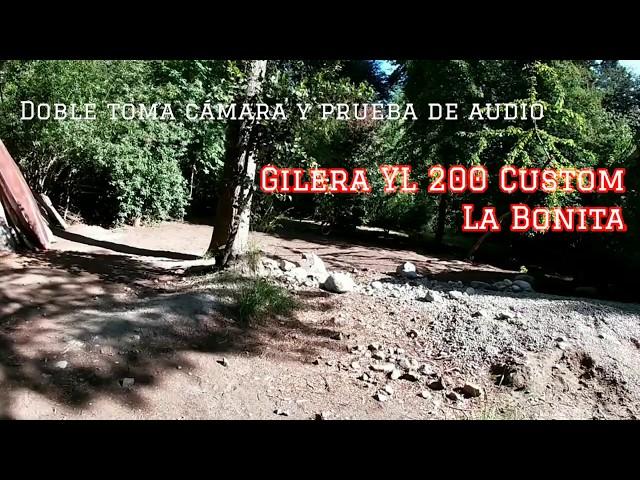 Paseo en moto por Bariloche con doble toma de cámara y prueba de audio | Motovlog #11 S1 Ep. 11