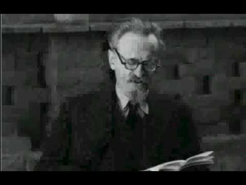 Leon Trotsky Speech in Mexico about the Moscow trials in the late thirties
