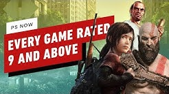 Every PS Now Game Rated 9 and Above