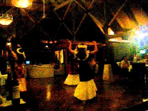 Vanuatu Dancing at Micheners restaurant Iririki island Vanuatu