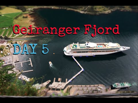 LEGENDary Voyage Day 5: Geiranger Fjord (Royal Caribbean Norwegian Cruise)