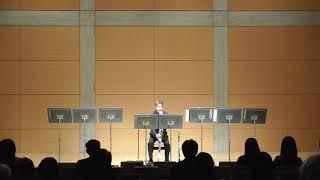 日本の作曲家2017「ニューカマーズ」3松波匠太郞作曲「MESOTES]for clarinet