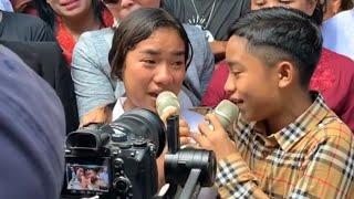 Momen Haru Betrand Peto Berduet Dengan Kakak Kandungnya MP3