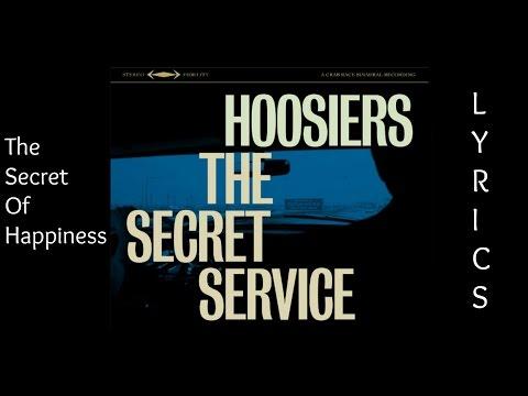 The Hoosiers - The Secret To Happiness [LYRICS]