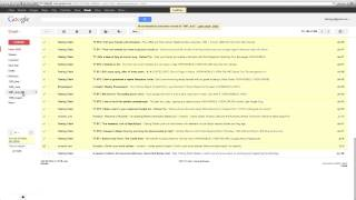 How to 'Sweep' Your Inbox in Gmail