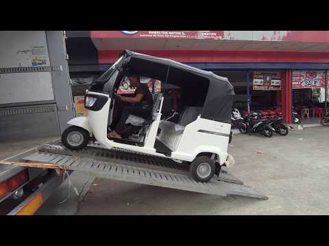 New TVS King Auto Rickshaws Being Delivered