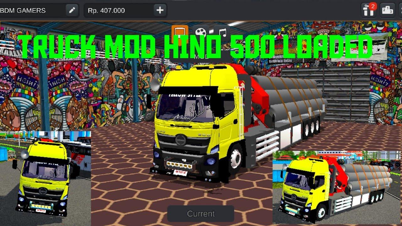 73 Koleksi Mod Mobil Hino 500 Gratis