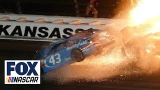 Aric Almirola looks back at how his horrific wreck changed the course of his career | NASCAR RACEDAY