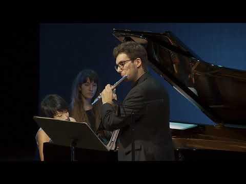 Philippe Gaubert. Madrigal. Eduard Belmar, flute
