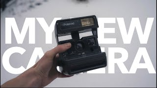 My New Camera!   Vintage One Step Polaroid 600