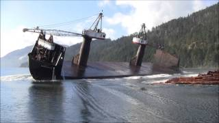 Log Barge Dumps