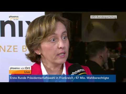 AfD-Bundesparteitag 2017: Beatrix von Storch am 22.04.2017