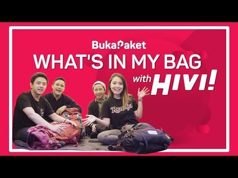 What's In My Bag: Peralatan Camping Wajib Punya Feat. HIVI    BukaPaket For Him