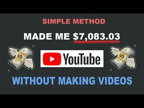 How I Made $7,059.29 On YouTube Without Making Videos ( Make Money Online )