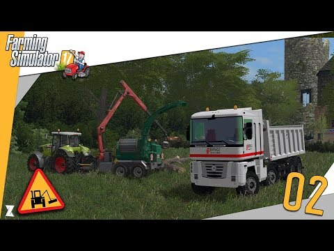 🚜 Farming Simulator 17 🎍 Entretien communal #2 Construction