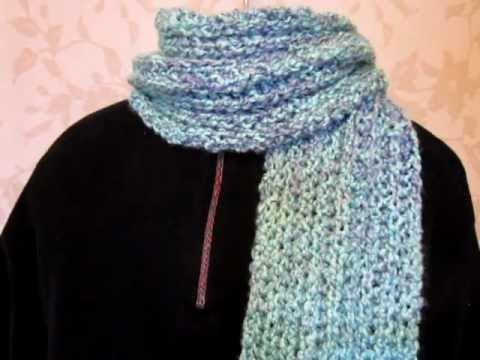 Homespun Scarf Waterfall Youtube