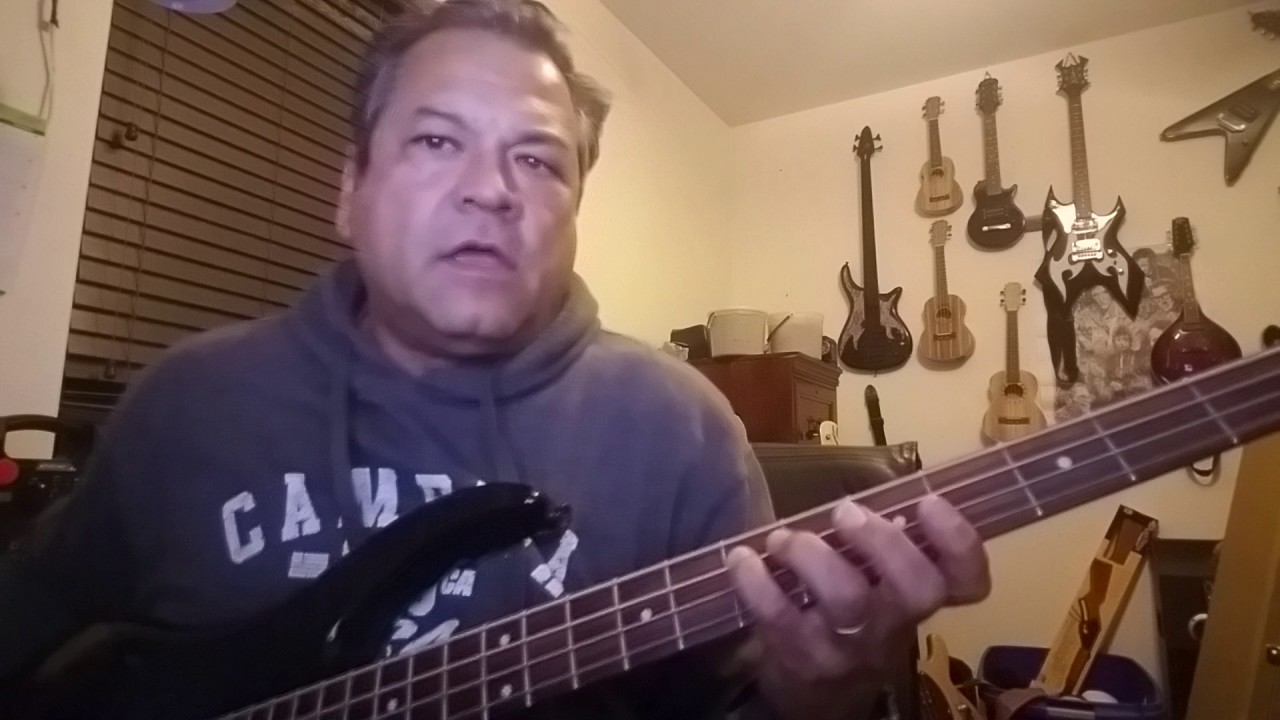 flirting with disaster molly hatchet bass cover youtube music video 2017