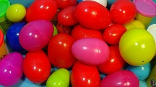 30 surprise eggs disney cars marvel spider man spongebob hello kitty angry birds pony furby