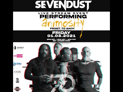 """Sevendust to perform album """"Animosity"""" in full on livestream event...!"""