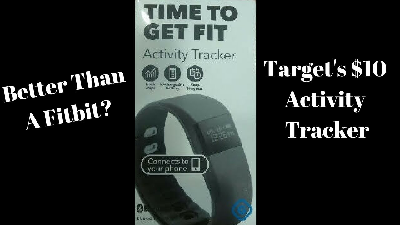 Better Than A Fitbit or Apple Watch? Target Time To Get Fit $10 Activity  Tracker By Gems (Review)